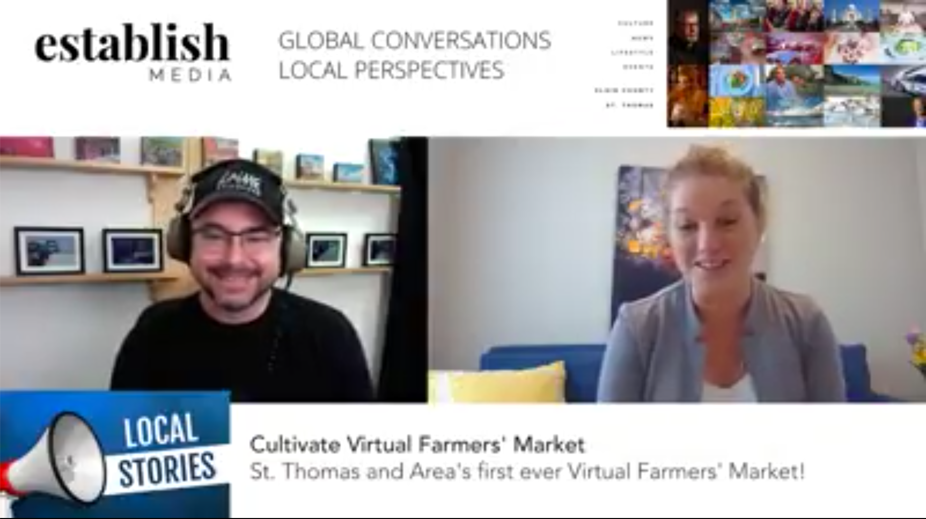 St. Thomas and Area's first ever Virtual Farmers' Market!