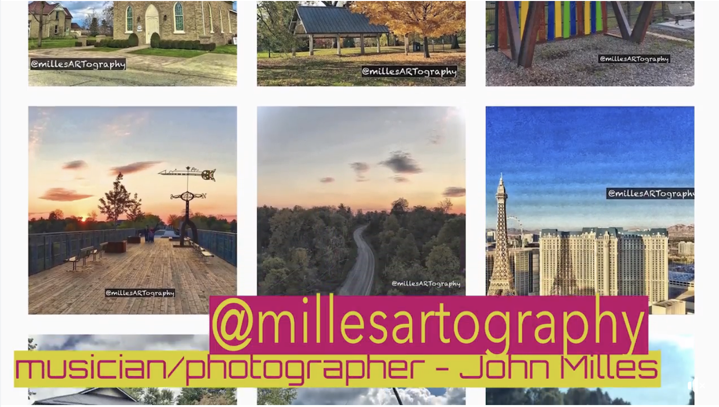 Musician/Photographer John Milles on #ARTsolation Update for Art Beat