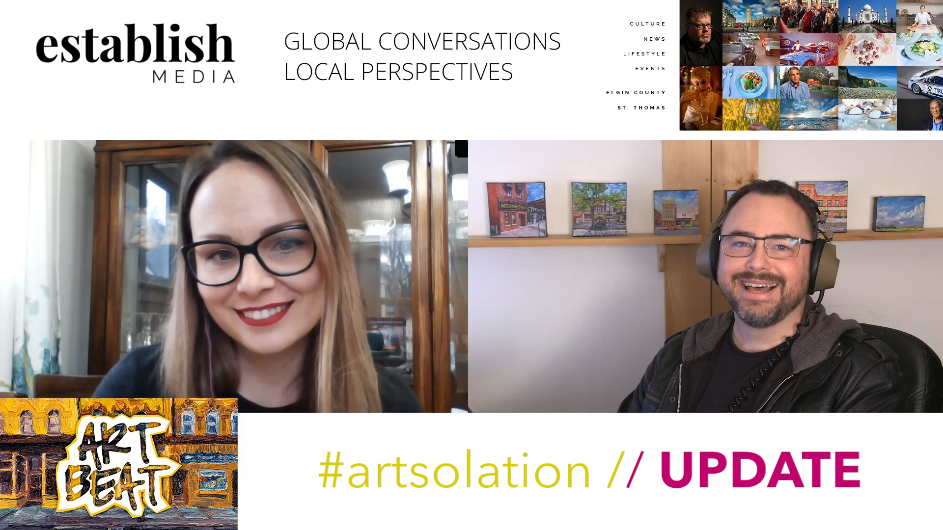 What is #ARTsolation? How can you participate?