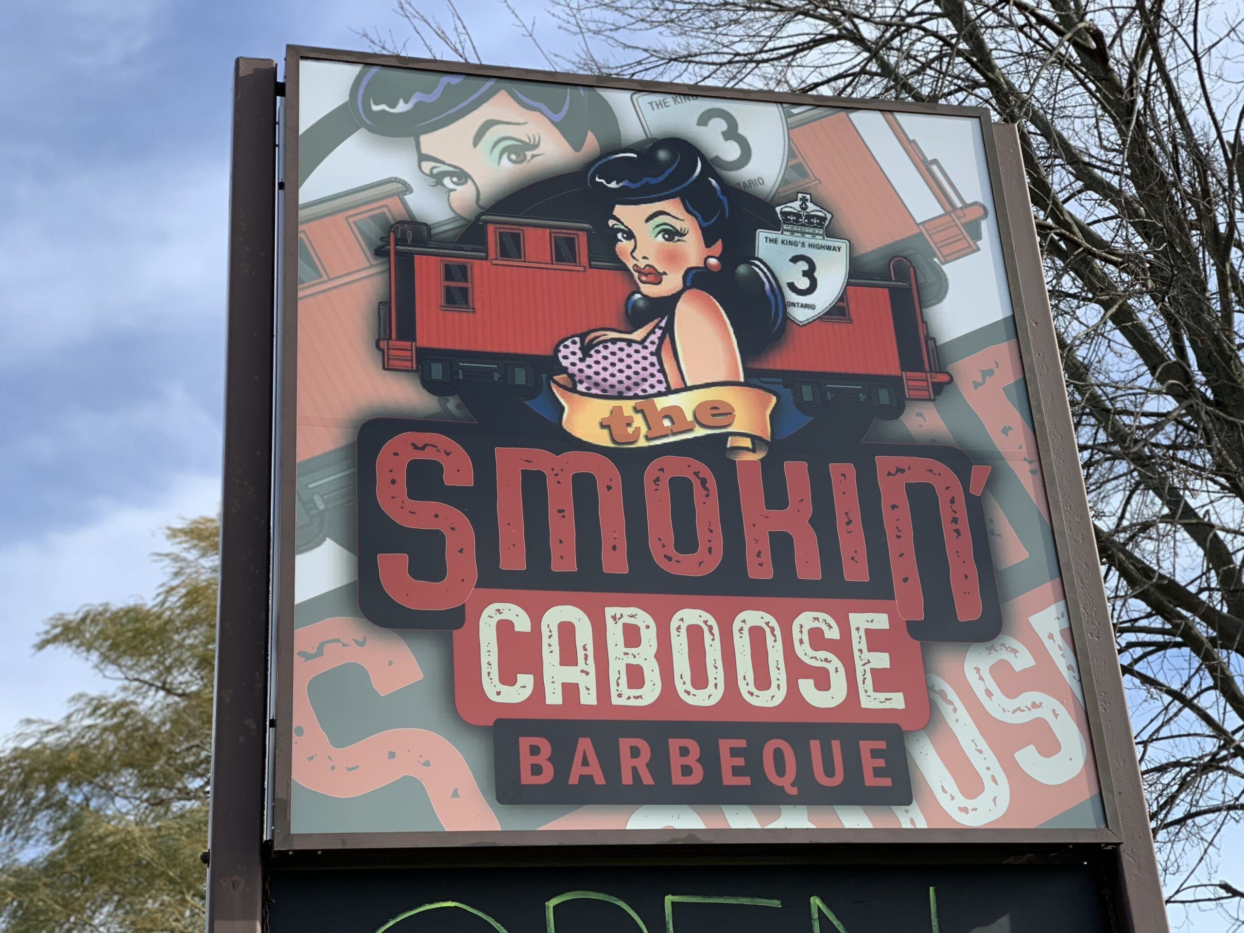 The Smokin' Caboose Barbeque is a BBQ Lover's Dream!