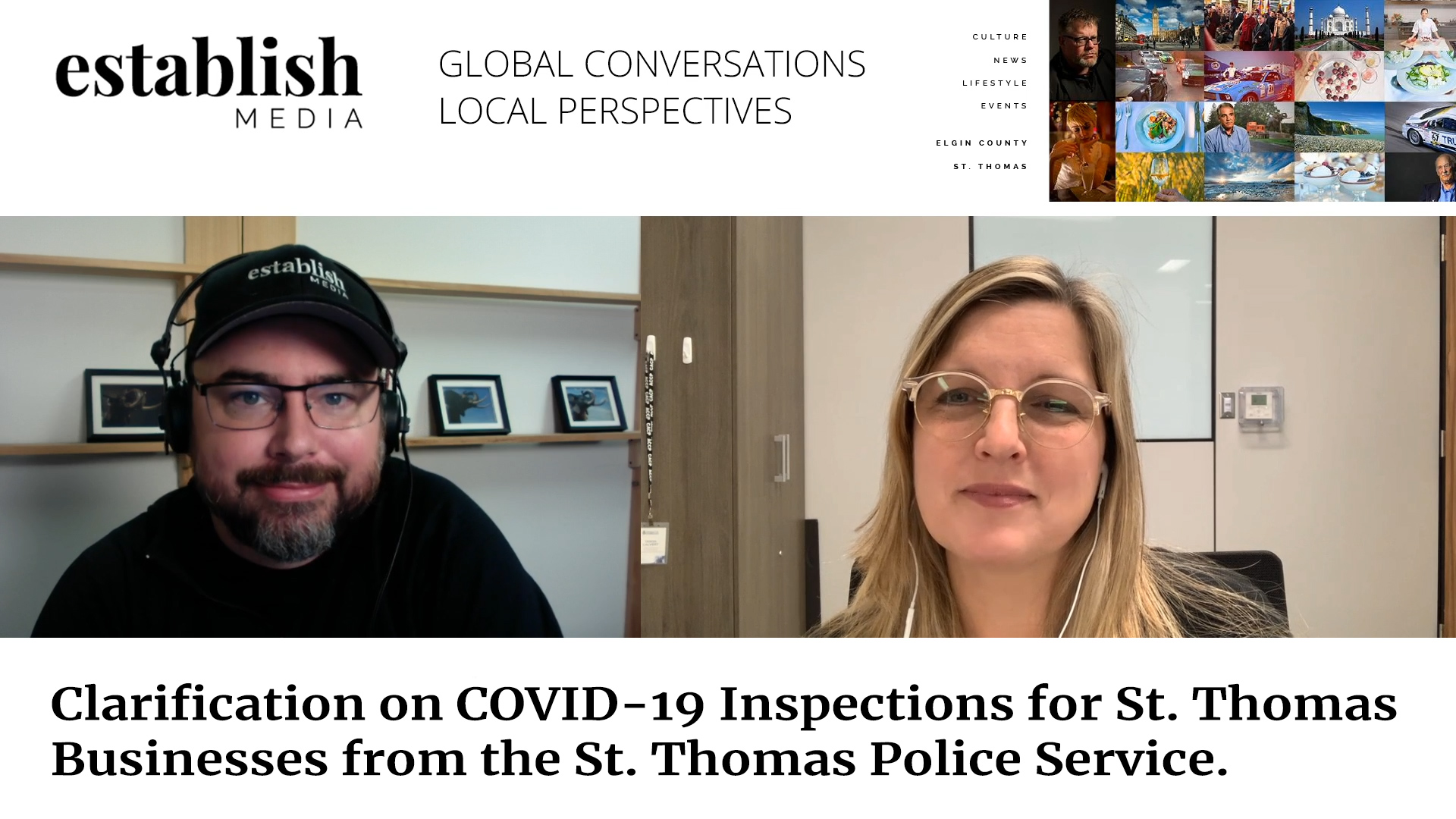 Clarification on the new COVID-19 Inspections for St. Thomas Businesses from the St Thomas Police Service