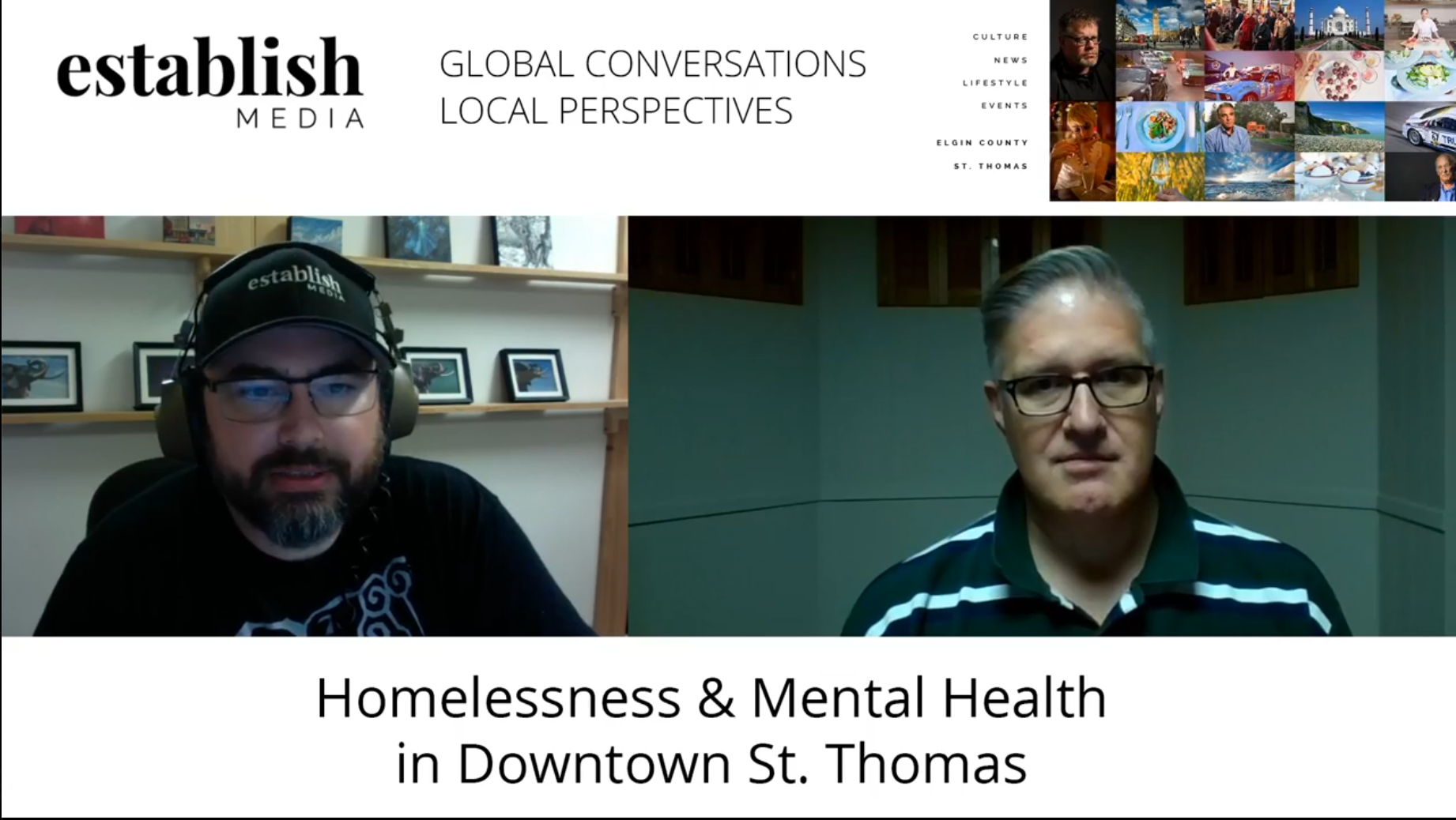 Homelessness & Mental Health in Downtown St. Thomas