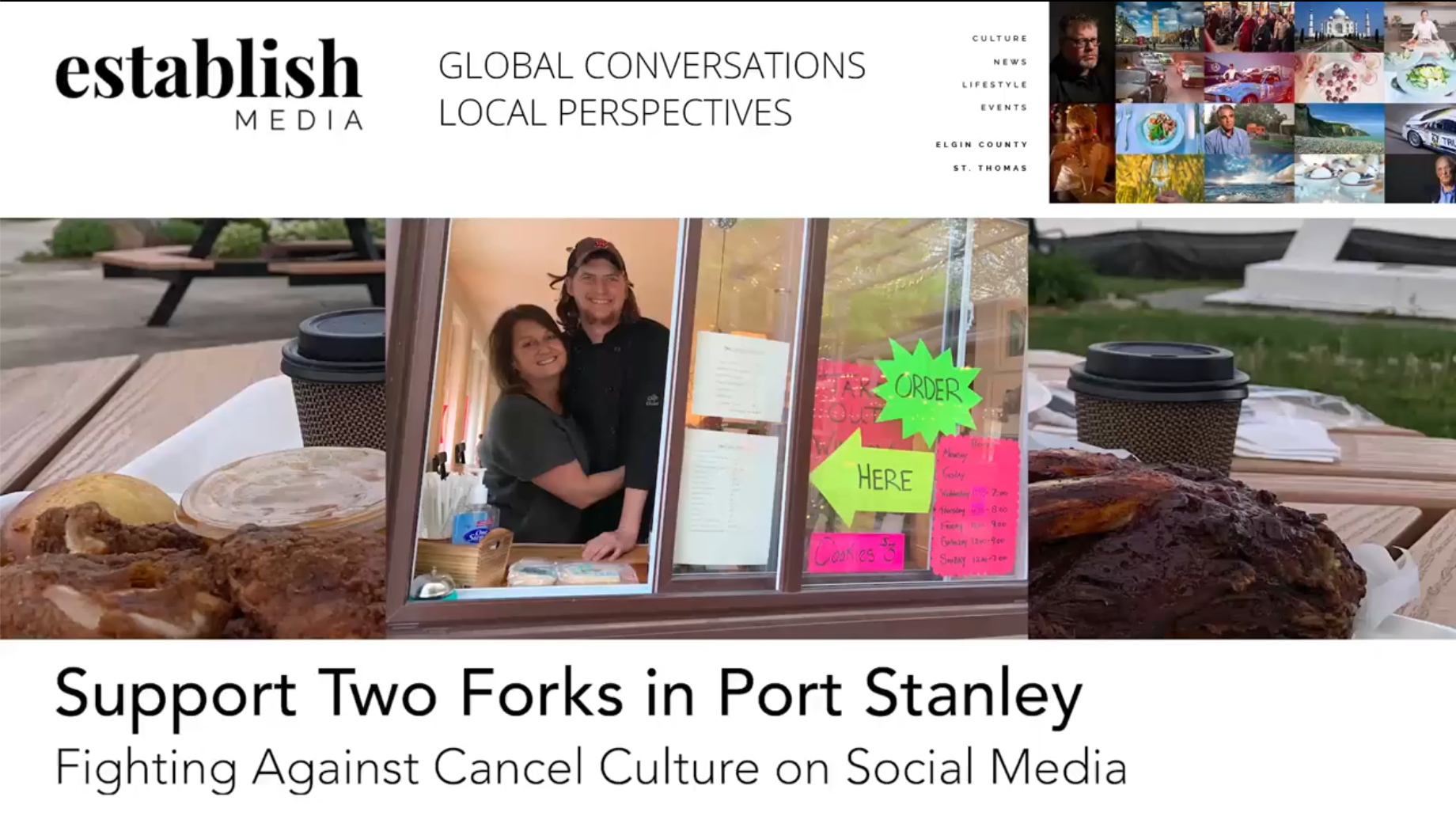 Two Forks: Speaking Up Against Cancel Culture on Social Media