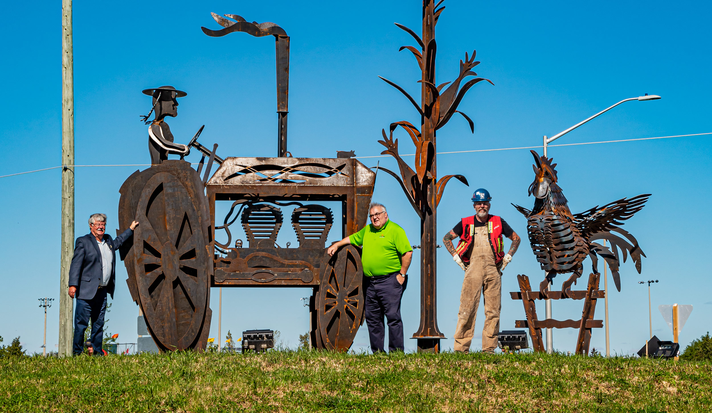 Public Art Installation recognizes long term relationship between City and County